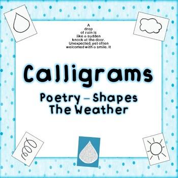Calligrams - Shape Poetry