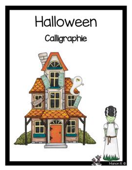 Calligraphie (Halloween)