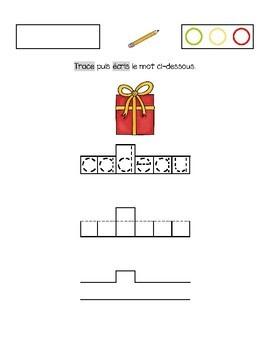 Calligraphie (Noël)
