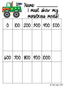 Instant Math Calling All Monster Trucks: Rounding to Nearest 10 and 100