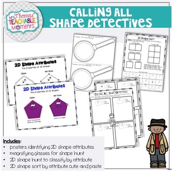 2D Shapes Attributes Calling All Shape Detectives!