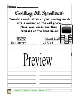 Calling All Spellers