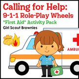 """Calling for Help... - Girl Scout Brownies - """"First Aid"""" Ac"""