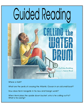 Calling the Water Drum - Guided Reading