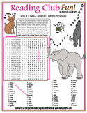 Calls & Cries (Animal Communication) Word Search Puzzle