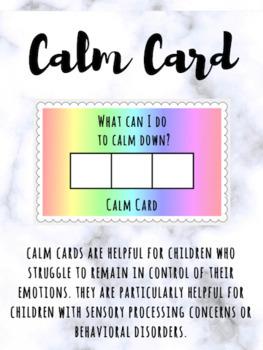 Calm Card