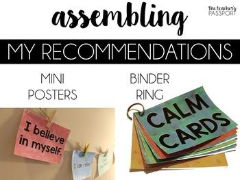 Calm Cards: Positive Affirmations for Kids [Sample Set]