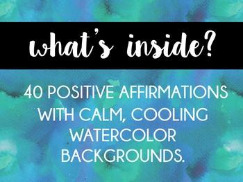 Calm Cards: Postive Affirmations for Kids