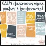 Calm Classroom Vibes - Posters & Bookmarks