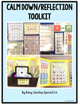 Calm Down/Reflection Toolkit