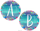 Calm & Cool Watercolor Word Wall Headers