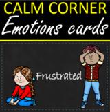 Calm Corner Chalkboard Stitch Emotions Cards Posters