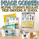 Calm Corner Lesson and Signs: Peace Corner or Take a Break
