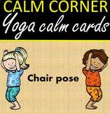 Calm Corner Sandy Yoga and Mindfulness Cards