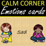 Calm Corner Sandy Emotions Cards Posters