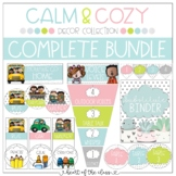 Calm & Cozy Classroom Decor COMPLETE BUNDLE