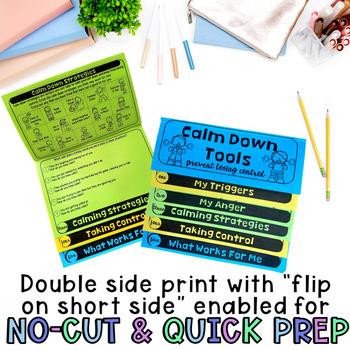 Calm Down Anger Control Flipbook