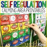 Calm Down Area Printables: Self Regulation Calm Down Kit