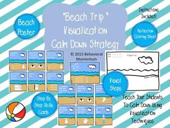 Calm Down Area Strategy (Visualization - Beach Trip)