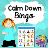 Calm Down Bingo