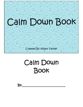 Calm Down Book
