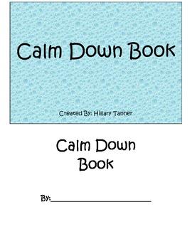 Calm Down Book