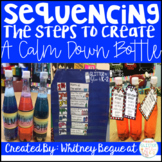 Calm Down Bottles-Sequencing the Steps to Create a Calm Down Bottle