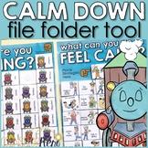 Calm Down Corner Self Regulation Lap Book: Label Feelings & Calming Strategies