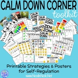 Calm Down Corner Kit- Printable Strategies for Behavior and Autism Units