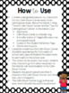 Calm Down Corner Pack {Black and White Polka Dot with Brights Theme}