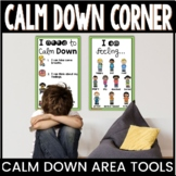 Calm Down Corner Posters and Tools