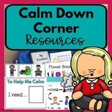 Calm Down Corner Resources