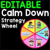Calm Down Corner Virtual Wheel - EDITABLE SLIDES