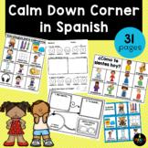 Calm Down Corner in Spanish - Spanish Take a Break