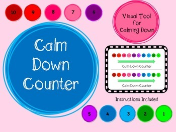 Calm Down Counter