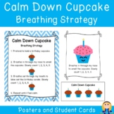 Calm Down Cupcake Birthday Candle Breathing Strategy Poste