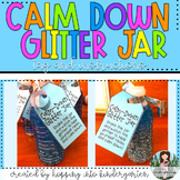 Calm-Down Glitter Jar - Printable labels and directions