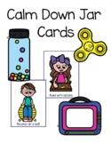 Calm Down Jar Cards