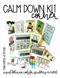 Calm Down Kit Corner- Visual Behavioral Management Tools f