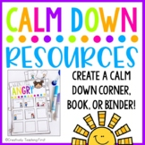 Calm Down Kit EDITABLE - Distance Learning