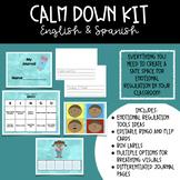 Calm Down Kit- English and Spanish