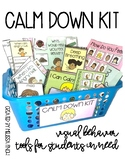 Calm Down Kit- Visual Behavioral Management Tools for the