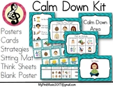 Calm Down Kit (quiet corner, safe space, feeling zone)