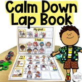 Calm Down and Coping Skills Lap Book for Counseling & Calm Corners