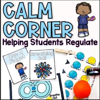 Calm Down Peace Corner Visuals