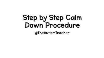 Calm Down Procedure