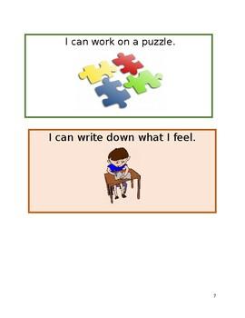 Social Story: Calm down strategies