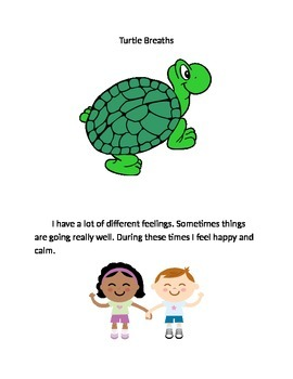 Calm Down Social Story-Turtle Breaths