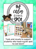 Calm Down Spot {Resources for the General or Special Ed Classroom's break space)