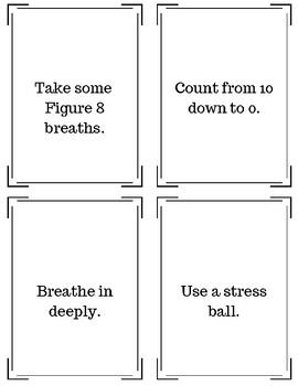Calm Down Strategies